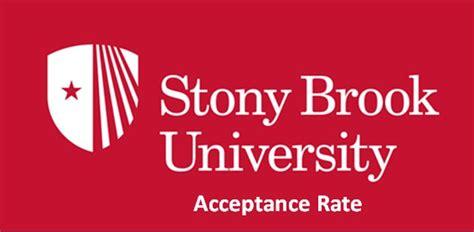 stony brook university acceptance rate helptostudycom