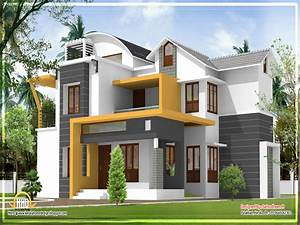 very modern house plans kerala modern house design With pictures of modern houses designs