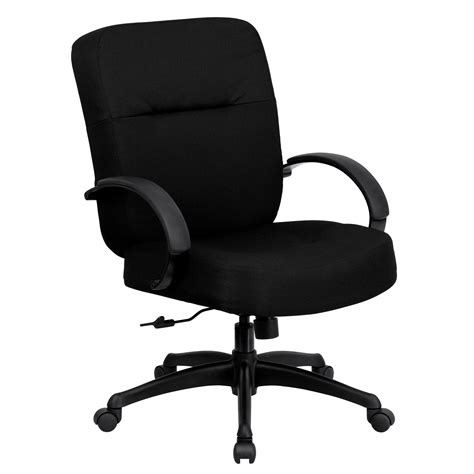 Office Chair 400 Lb Weight Capacity by Flash Hercules Series 400 Lb Capacity Big Black