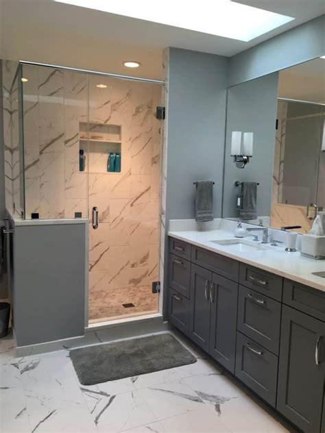 stained white bath bathroom cabinets alexandria va