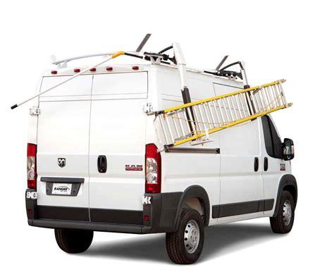 ladder rack for ram promaster shelving systems ranger design