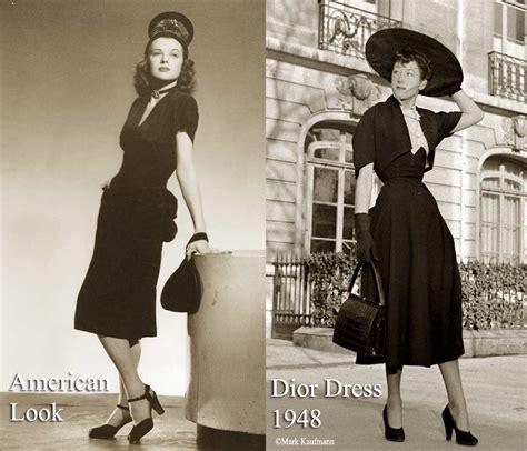 1940s Fashion The American Look Vs Dior 1947 Glamourdaze
