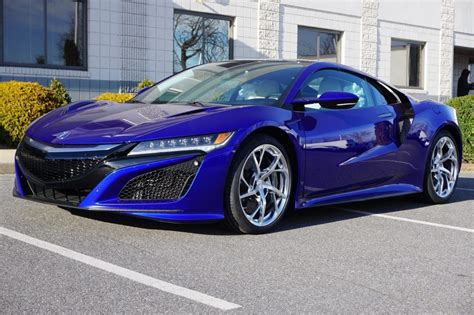 2019 Acura NSX : Best 2019 Acura Nsx Blue Picture
