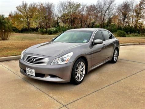 automobile air conditioning service 2000 infiniti g parking system purchase used 2008 infinity g35 journey no reserve in houston texas united states