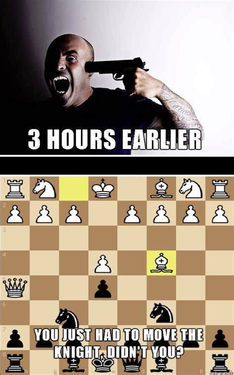 Chess Memes - when they are playing checkers but you are playing chess funny meme image