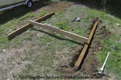 build shed foundation icreatablescom