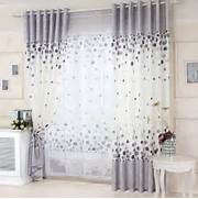 Curtains In The Nursery For Girls Home Modern Curtains Elegant Cotton White And Gray Kids Curtain