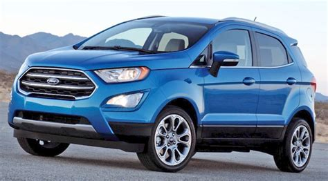 2019 Ford Ecosport  Price, Design, Release Date Ford