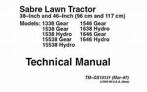 John Deere Sabre 1338  See Models In Add  Factory Lawn