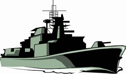 Ship Clipart Navy Battleship War Vector Clip