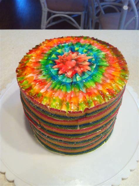 tie dye candy cake cake decorating community cakes we bake