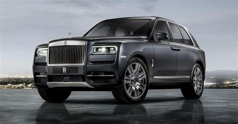 Rolls Royce 2019 : 2019 Rolls-royce Cullinan Is Astoundingly Opulent