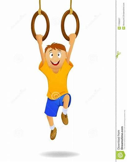 Ringen Hangen Hanging Rings Boy Gymnastiek Gymnastic