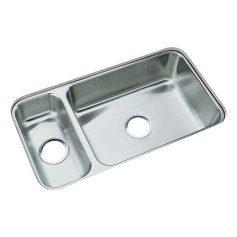 stainless steel undermount kitchen sink double bowl sterling mcallister undermount stainless steel 32 in