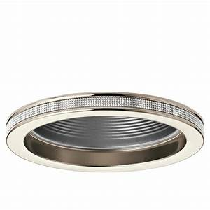 Kichler angelica polished nickel baffle recessed