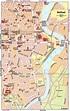 Belfast Map and Belfast Satellite Image