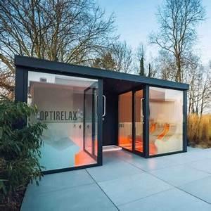 Gartenhaus Sauna Kombination : gartensauna au ensauna von optirelax ~ Whattoseeinmadrid.com Haus und Dekorationen