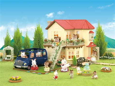 sylvanian families bluebell cottage bluebell seven seater sylvanian families