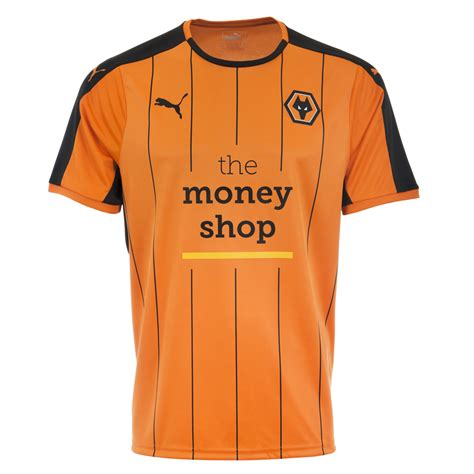 Wolves 16/17 Puma Home Kit | 16/17 Kits | Football shirt blog