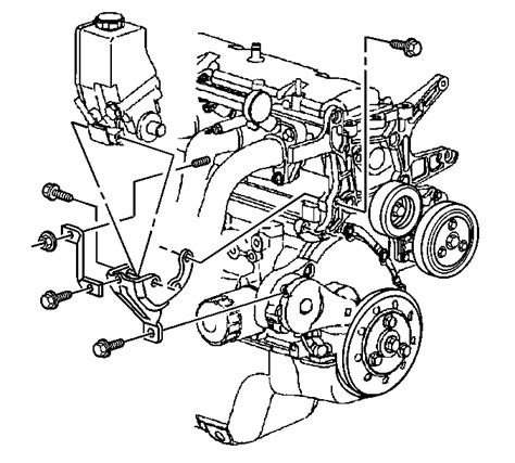 1996 Chevy Cavalier 2 4 Engine Diagram by I Need Exploded Diagram Showing All Bolts Spacers And
