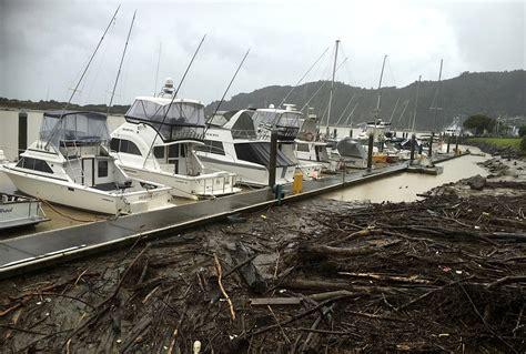 Jaunzēlandē plosās ciklons «Kuks» / Raksts
