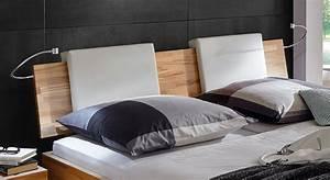 Bett Kopfteil Kissen : bequemes bett rimini aus hochwertigem buchenholz ~ Michelbontemps.com Haus und Dekorationen