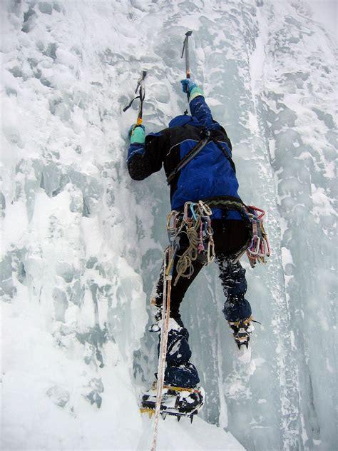 a climbing ice climbing wikipedia
