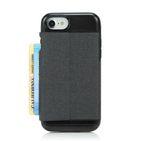 But it keeps it all compact in leather casing, with drop protection to boot. Incipio Esquire Series Wallet Credit Card Case for iPhone 8 7 6s 6 Heather Grey for sale online ...