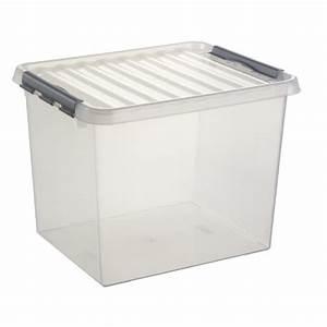 Boite Rangement Pas Cher : boites plastiques rangement pas cher table de lit ~ Teatrodelosmanantiales.com Idées de Décoration