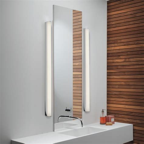 Modern Led Bathroom Sconces by How To Light A Bathroom Vanity Design Necessities Lighting