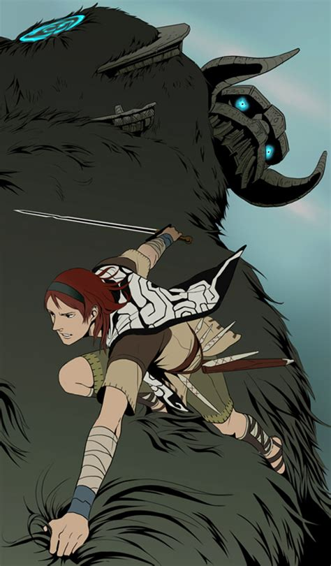 Fan Art Friday Shadow Of The Colossus