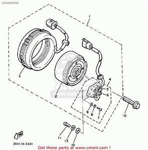 Yamaha Xj900rk 1983 Generator