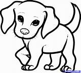 Coloring Pages Cute Baby Animal Dragoart Draw Beagle Puppy Step Comments Pets sketch template