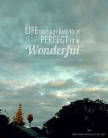 Wonderful Life Quotes Inspirational