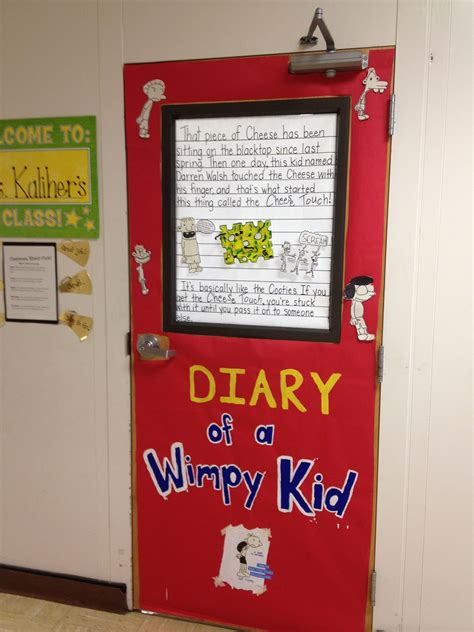 Door Decorating For Celebrate Literacy Weekdiary Of A