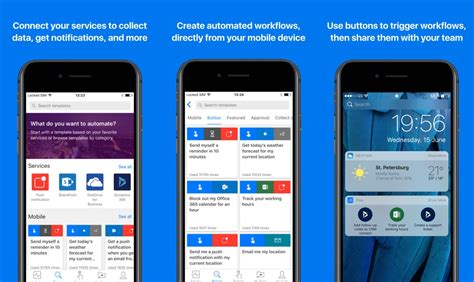 microsoft flow app for ios updated with iphone x support and more mspoweruser
