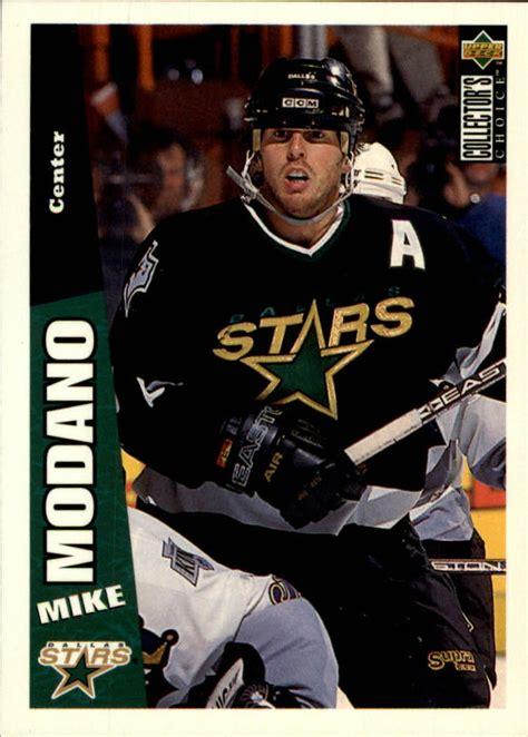 1996-97 Collector's Choice Stars Hockey Card #69 Mike ...