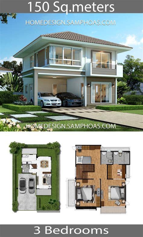 sqm home design plans   bedrooms  images home design plans craftsman house