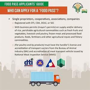 Food Pass Applicants U0026 39  Guide