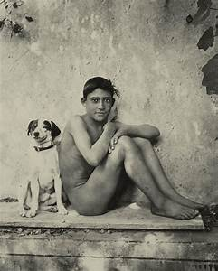 Study of a nude boy with dog poster by wilhelm von gloeden for Markise balkon mit afrika tapete