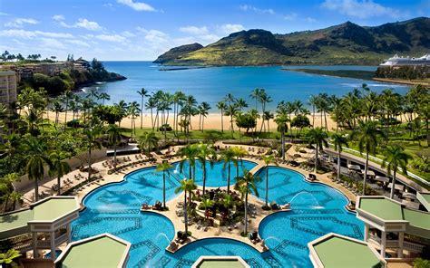 kauai marriott resort  kalapaki beach travel leisure