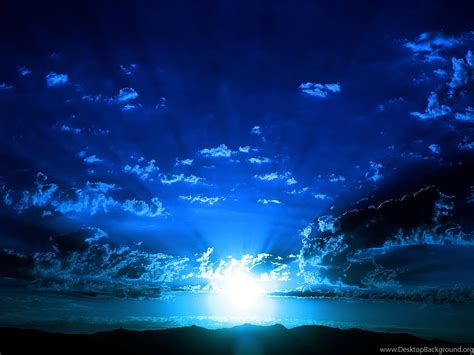 Beautiful Sky Blue Colour Wallpapers Desktop Background
