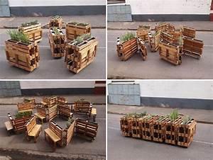 Bar Aus Holzpaletten : muebles con palets de madera tendencias 2018 decorar hogar ~ Sanjose-hotels-ca.com Haus und Dekorationen