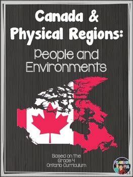 social studies canada physical regions ontario grade