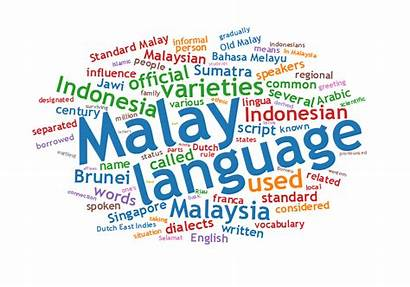 Language Malay Languages Spoken Malaysia Words Indonesian