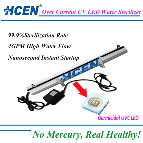 master water conditioning corp uv l led uv water purifier for home drinking water purification