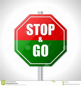 Stop And Go : stop and go sign for racers stock photo image 37091420 ~ Medecine-chirurgie-esthetiques.com Avis de Voitures