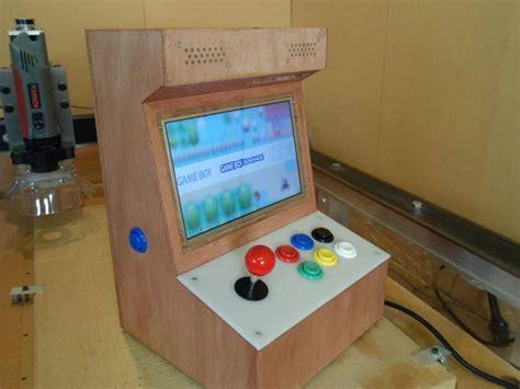 raspberry pi mame cabinet tutorial mini arcade machine diy crafts retro arcade