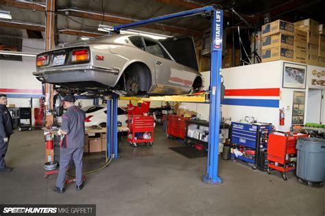 Garage Of Cars by Z Car Garage Where Datsun Geeks Rule Speedhunters