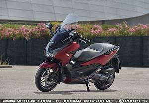 Scooter Forza 125 : scooter essai honda forza 125 2019 toujours plus premium ~ Medecine-chirurgie-esthetiques.com Avis de Voitures